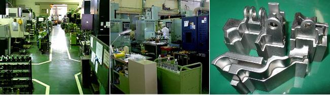 機械・金型部品及び冶工具製作