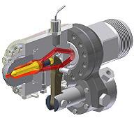 図3:油空圧駆動方式 HP 型